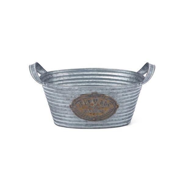 Glittering 3-Piece Iron Pot Planter Set by Benzara