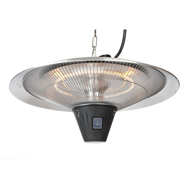 Gunnison Halogen 1500 Watt Electric Hanging Patio Heater by Fire Sense