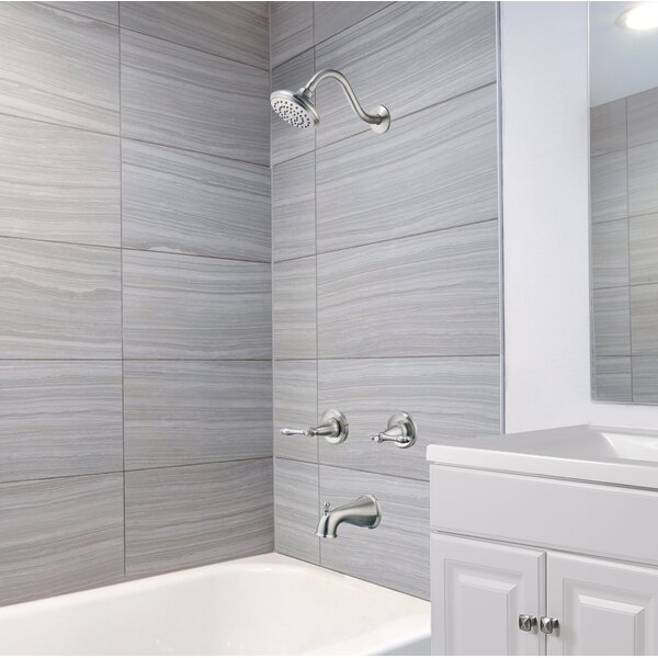 Oakmont Faucet Tub & Shower with Valve by Design House Design House