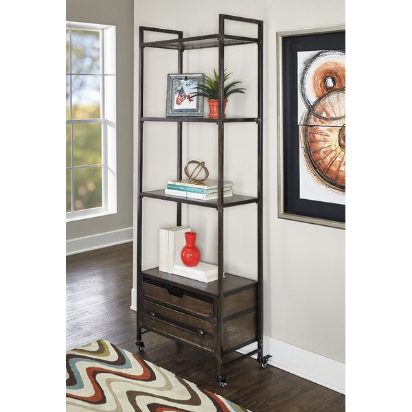 Preesall Metal Standard Bookcase by Williston Forge