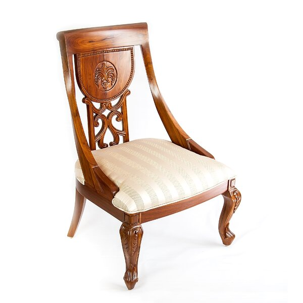 Engraved Florence Dining Chair by The Silver Teak