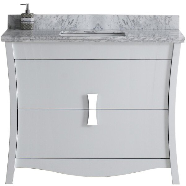 Cataldo Floor Mount 48 Single Bathroom Vanity Set by Royal Purple Bath Kitchen