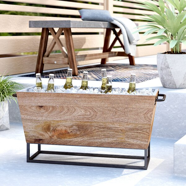 Willbanks Beverage Tub by Trent Austin Design