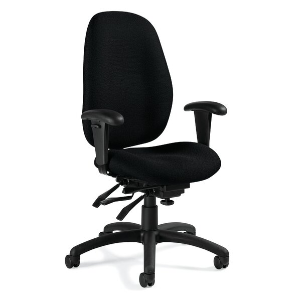 Malaga Desk Chair by Global Total Office