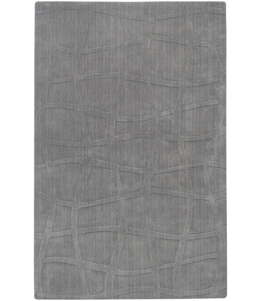 Sculpture Hand Woven Wool Gray Area Rug by Candice Olson Rugs