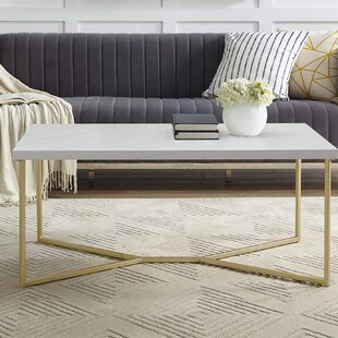 Gold Marble Coffee Tables You Ll Love Wayfair