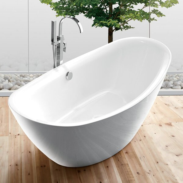 70.9 x 34.6 Bathtub by Legion Furniture