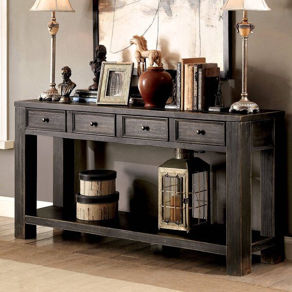 Deals Price Mosier Transitional Console Table