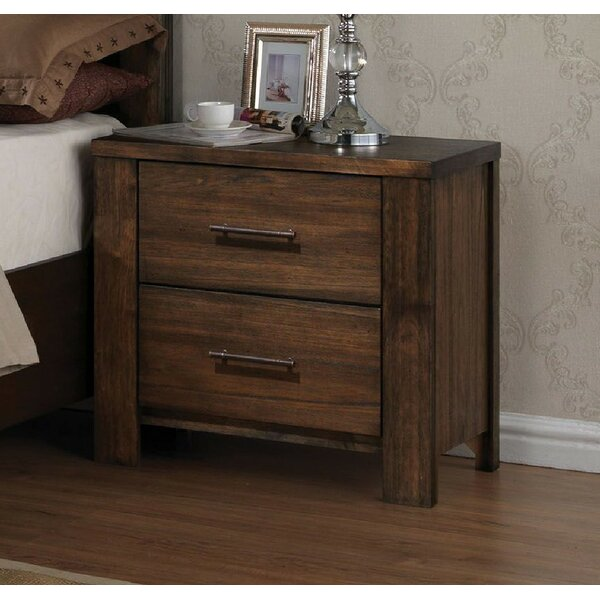 Zoey 2 Drawer Nightstand by Foundry Select