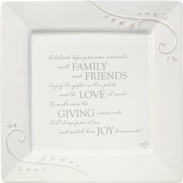 Giving 10 Dinner Plate by Precious Moments