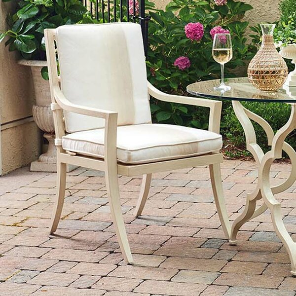 Misty Garden Patio Dining Chair with Cushion by To