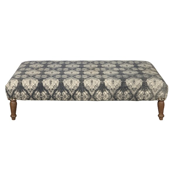 Ziegler Upholstered Cocktail Ottoman by Charlton Home
