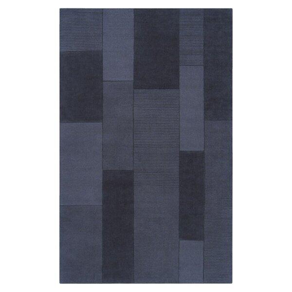 Juney Hand-Loomed Blue Area Rug by Orren Ellis