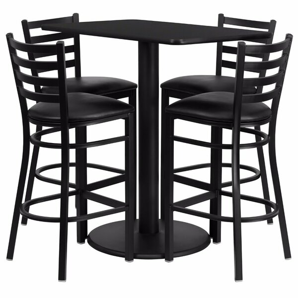 Blodgett 5 Piece Pub Table Set by Red Barrel Studio
