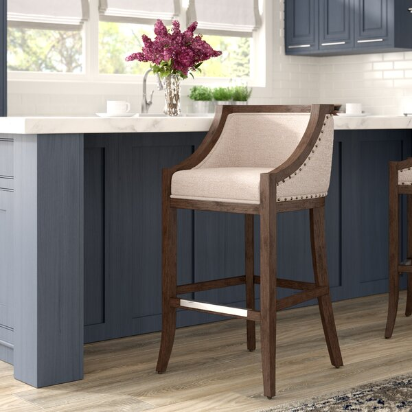 Cormiers Bar Stool by Darby Home Co
