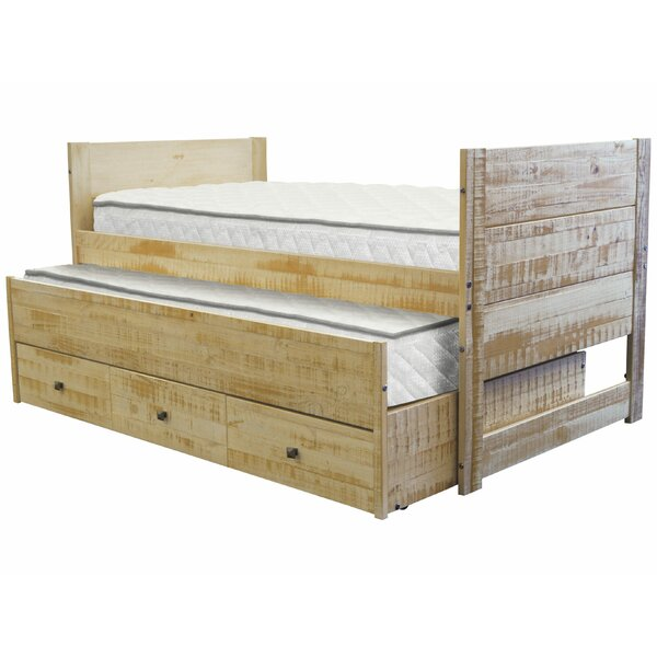 Nailsworth All in One Twin Mates & Captains Bed with Trundle and Drawers by Harriet Bee