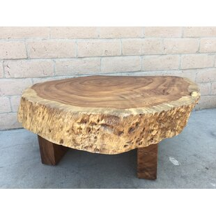 Amaro Thick Chunky Coffee Table Foundry Select