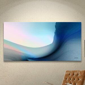 'Ocean Vibes 1' Framed Painting Print by Orren Ellis