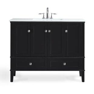 Comparison Chelsea 43 Single Bathroom Vanity Set BySimpli Home