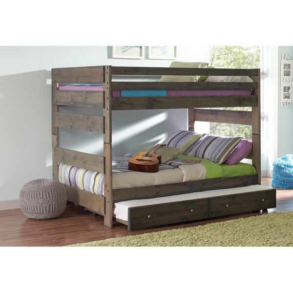 Malina Youth Full Over Full Bunk Bed By Viv + Rae by Viv + Rae 2020 Coupon