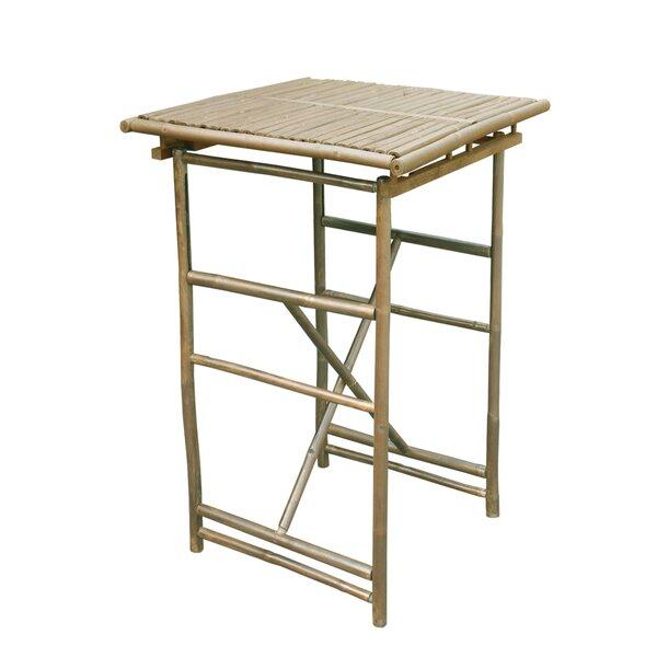 Kalwarski Folding Bar Table by Bloomsbury Market