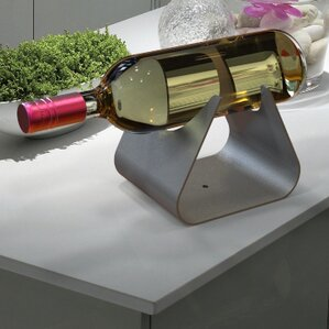 Vintages 1 Bottle Tabletop Wine Rack by Decorpro