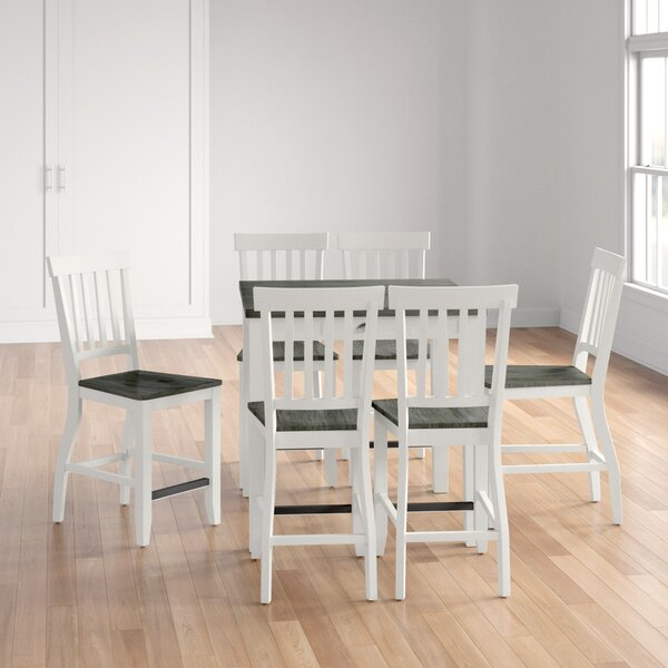 Reichard 7 Piece Counter Height Extendable Dining Set By August Grove