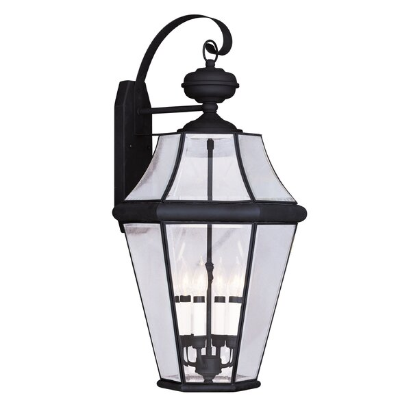 Violetta 4-Light Outdoor Wall Lantern by Darby Home Co