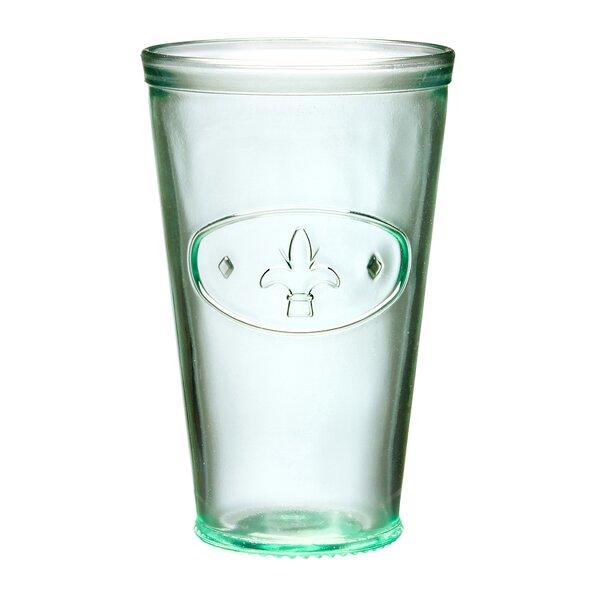 Gloucester Fleur De Lis Hiball Glass (Set of 6) by Alcott Hill