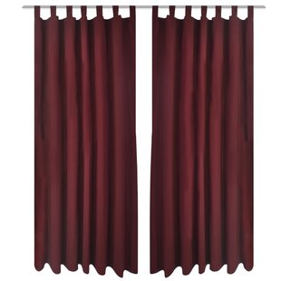 top drapes product tie cotton textured burlap country drape panel natural curtains