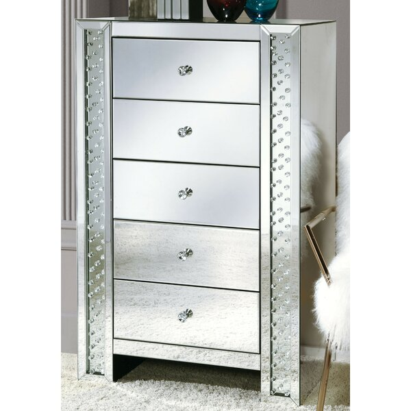 Pascal 5 Drawer Chest By Rosdorf Park by Rosdorf Park Today Sale Only
