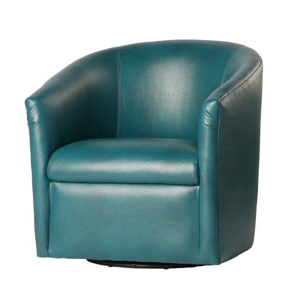 Trever Swivel Barrel Chair by Zipcode Design Zipcode Design