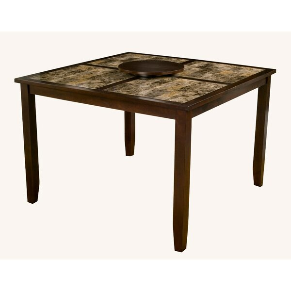 Gast Faux Marble Top Large Pub Table by Red Barrel Studio Red Barrel Studio
