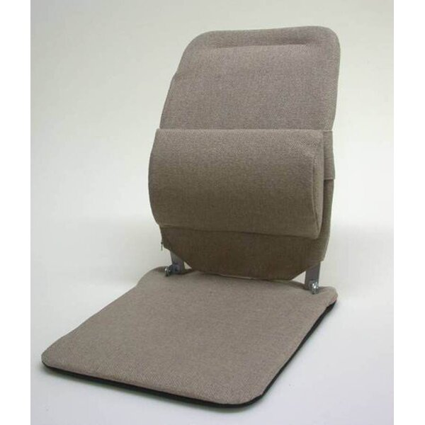 Seat Back Cushion with Adjustable Lumbar Support by Sacro-Ease
