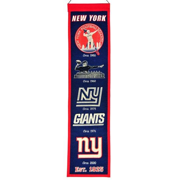 NFL Heritage Banner Wall Décor by Winning Streak