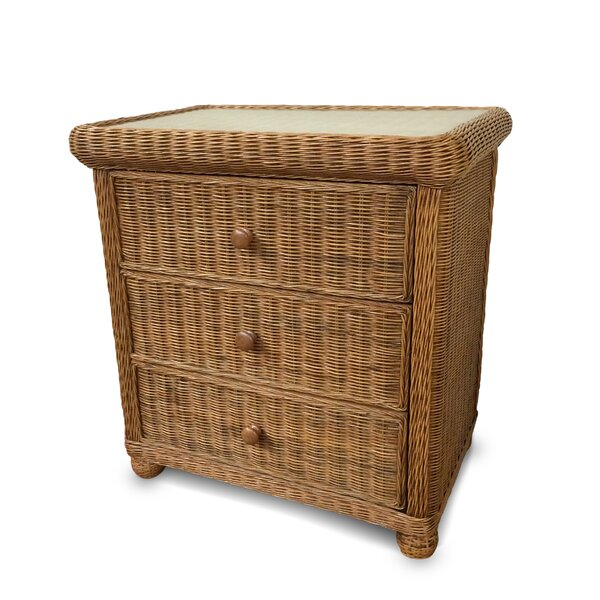 Watkins 3 Drawer Standard Dresser/Chest by Bay Isle Home