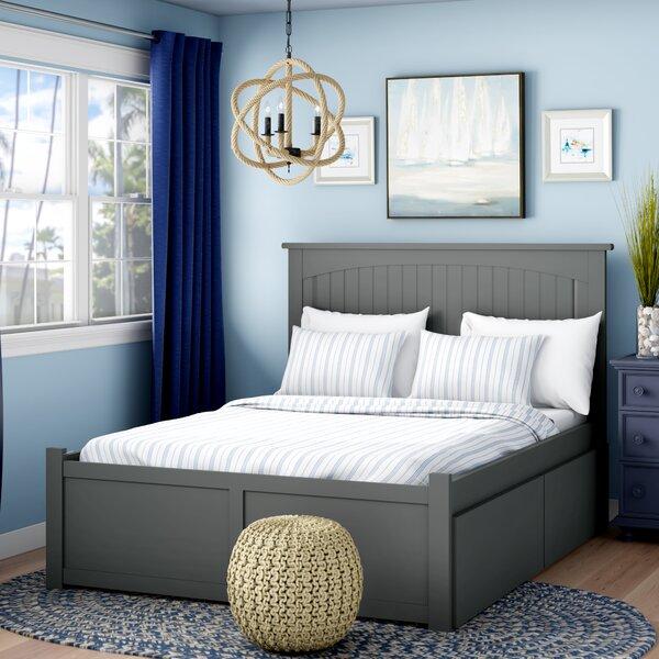 Mutchler Storage Platform Bed by Beachcrest Home