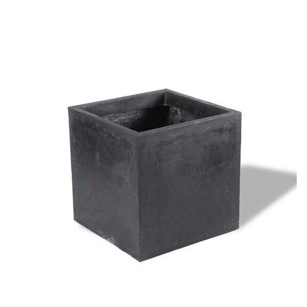 Contemporary Resin Stone Planter Box by Amedeo Design