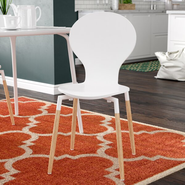 Downridge Solid Wood Dining Chair by Zipcode Design