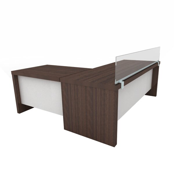 Acrylic Desk Mounted Privacy Panel by OBEX