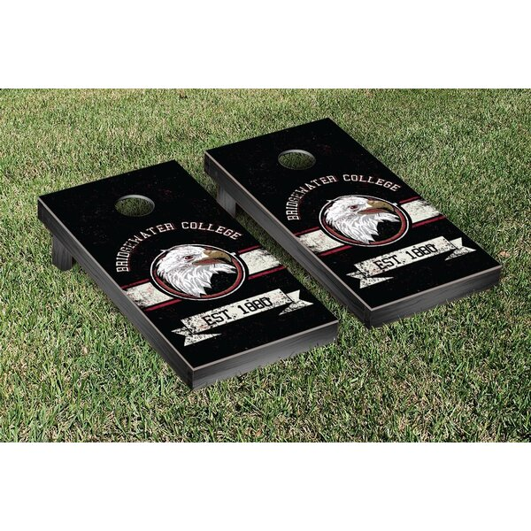 NCAA Banner Vintage Version Cornhole Game Set by Victory Tailgate