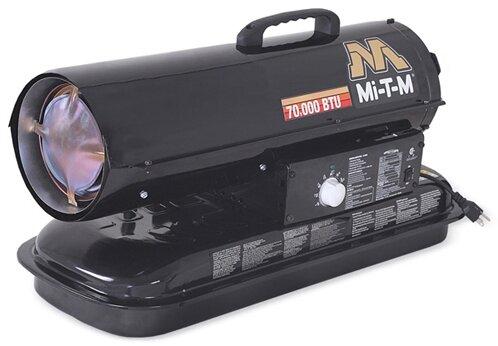 Kerosene Forced Air Utility Heater By Mi-T-M