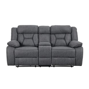 Tien Reclining Motion Sofa with Console