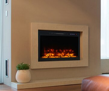 Spectrum Wall Mounted Electric Fireplace by Modern Flames