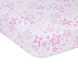 Stars Flat Crib Sheet By Miracle Blanket