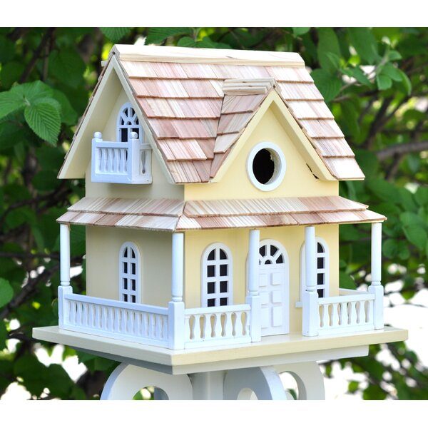 Classic Series Cape May Cottage 10.5 in x 10.5 in x 11 in Birdhouse by Home Bazaar