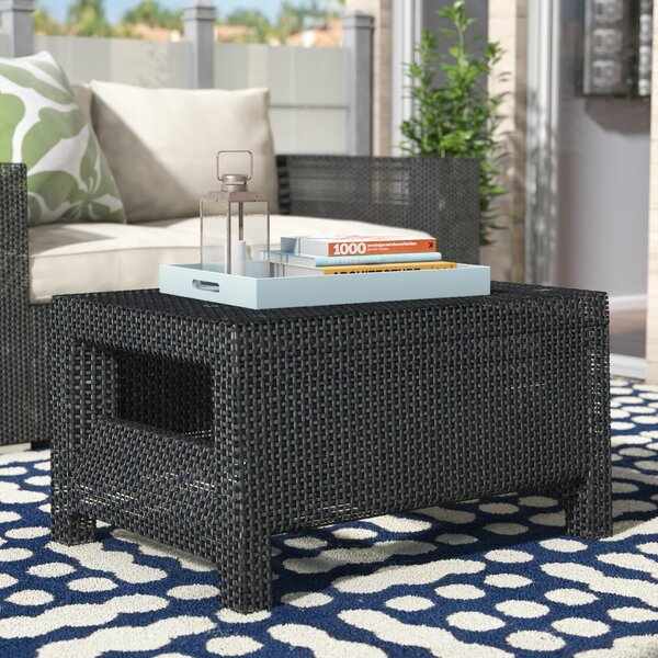 Berard All Weather Outdoor Plastic Coffee Table by Mercury Row