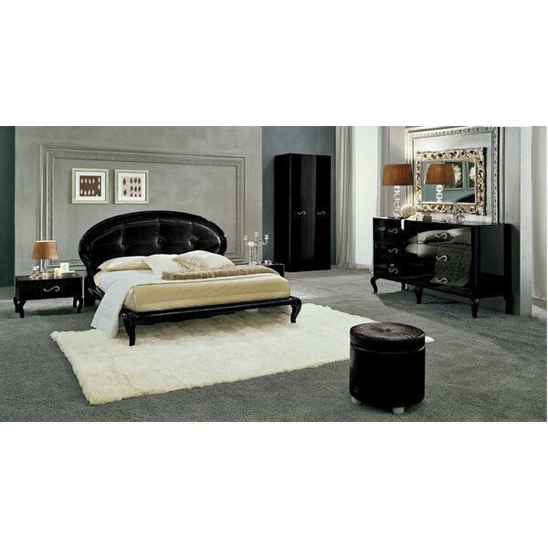 Queen Platform 3 Piece Bedroom Set by Noci Design