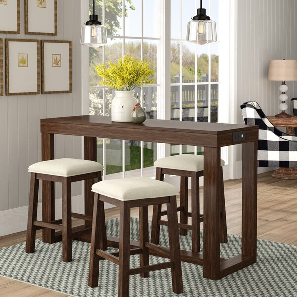 Mac 4 Piece Pub Table Set by Gracie Oaks