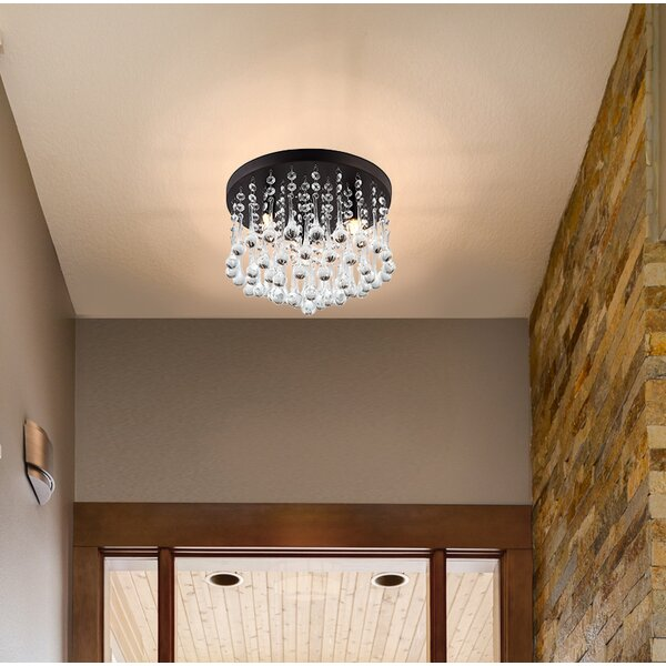 Kora 3-Light Flush Mount by Willa Arlo Interiors